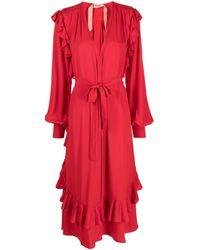 N°21 - ラッフルトリム ドレス - Lyst