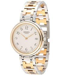 Hermès - プレオウンド クリッパー デイト 腕時計 - Lyst