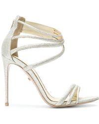 Le Silla Sandales à brides - Métallisé