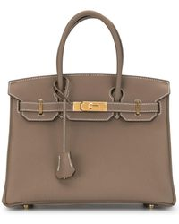 Hermès 2020 pre-owned Birkin Handtasche, 30cm - Braun