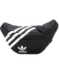 adidas Trefoil Logo Belt Bag - Black