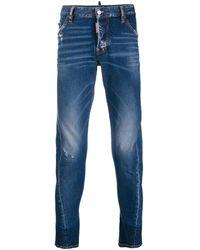 DSquared² Sexy Twist Jeans - Blue