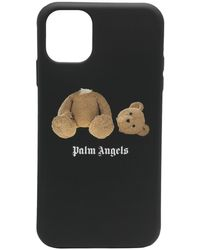 Palm Angels Bear-print Silicone Iphone 11 Pro Case - Black
