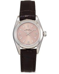 Rolex 2001 Pre-owned Oyster Perpetual Lady 26mm - Pink