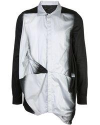 Rick Owens シャーリング シャツ - ブラック