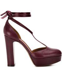 L'Autre Chose Escarpins D'Orsay - Violet
