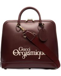 Gucci - Bolso shopper con detalle horsebit - Lyst