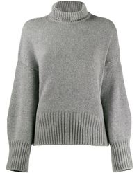 Loro Piana タートルネック セーター - グレー
