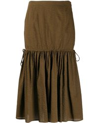 Marysia Swim Seashell Midi Skirt - Brown