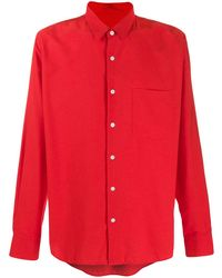 AMI - Men Summer Fit Shirt With Chest Pocket - Lyst