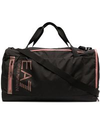 EA7 ダッフルバッグ - ブラック