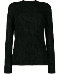 Ash - Round-neck Print Sweater - Lyst