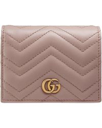 Gucci GG Marmont Card Case - Pink