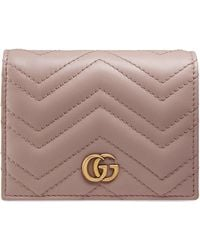 Gucci Картхолдер GG Marmont - Розовый