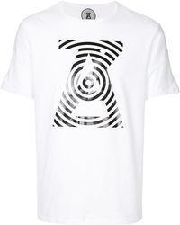 ANREALAGE | Graphic Logo T-shirt | Lyst