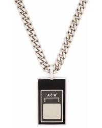 A_COLD_WALL* Logo-pendant Necklace - Black