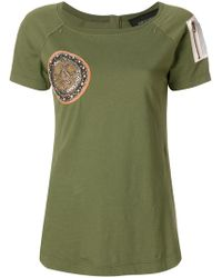 Mr & Mrs Italy - Zip-detailed T-shirt - Lyst