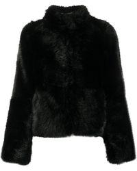 Urbancode ハイネック ジャケット - ブラック