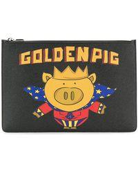 Dolce & Gabbana - Golden Pig Pouch - Lyst