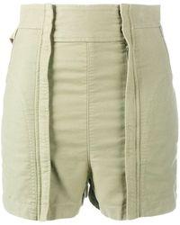Chloé Short taille-haute - Vert