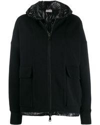 Moncler Zipped Double-layered Jacket - Black