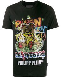 Philipp Plein テディベア Tシャツ - ブラック