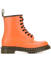 Dr. Martens - オレンジ 1460 ブーツ - Lyst