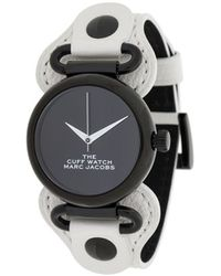 Marc Jacobs The Cuff Watch - White