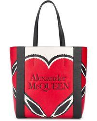 Alexander McQueen - Сумка-тоут Signature - Lyst
