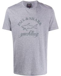 Paul & Shark - ロゴ Tシャツ - Lyst