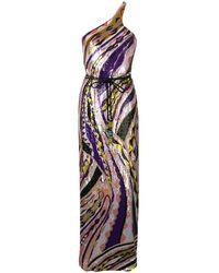 Emilio Pucci Вечернее Платье С Пайетками - Пурпурный
