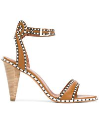 Derek Lam - Ankle Strap Patterned Sandals - Lyst