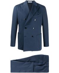 Boglioli ツーピース スーツ - ブルー