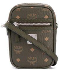 MCM ロゴ ショルダーバッグ - グリーン
