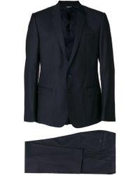 Dolce & Gabbana Costume à motif de chevrons