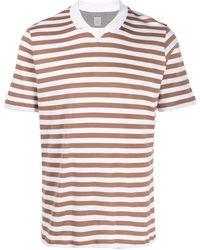 Eleventy ストライプ Tシャツ - マルチカラー