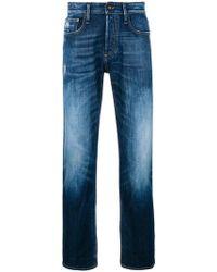 Denham - Mid-rise Ice Blasted Jeans - Lyst