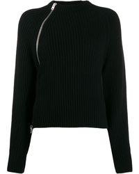 Mrz サイドジップ セーター - ブラック