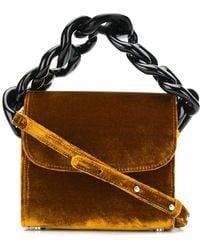 Marques'Almeida - Velvet Chain Mini Bag - Lyst