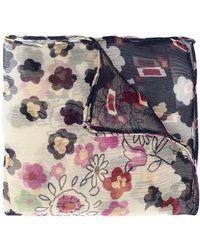 DSquared² Floral Print Pocket Square - Multicolour