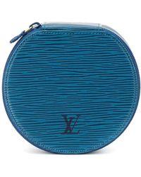Louis Vuitton Футляр Для Украшений Bijou Pre-owned - Синий