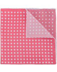 Cerruti 1881 - Polka Dot Checked Scarf - Lyst