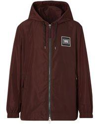 Burberry - Куртка С Капюшоном И Нашивкой-логотипом - Lyst
