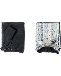 Karl Lagerfeld Перчатки-митенки K/soho - Черный