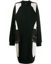 Bernhard Willhelm オーバーサイズ ニットドレス - ブラック