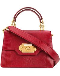 Dolce & Gabbana Bandolera Welcome - Rojo