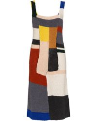 Eckhaus Latta - カラーブロックドレス - Lyst