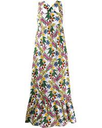 Borgo De Nor - Mila Floral Print Maxi Dress - Lyst