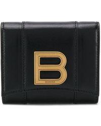 Balenciaga Кошелек Hourglass Continental - Черный