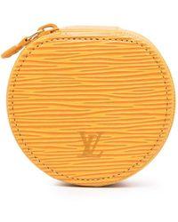 Louis Vuitton プレオウンド エクリン ビジュー 8 ジュエリーケース - イエロー